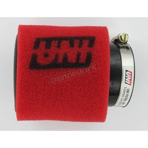 UNI Two-Stage Pod Filter w/Angled Flange - 2 1/4 in. I.D. x 4 in. L - UP-4229AST