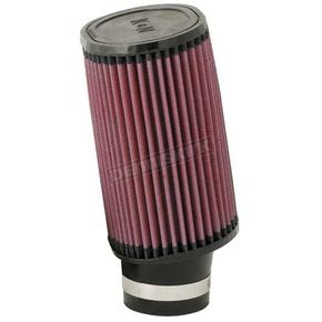 K & N High-Flow Air Filter for 36-38mm Mikuni Carbs - RU-1830