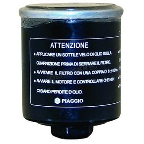 Piaggio Scooter Oil Filter - 483727