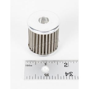 Moose Stainless Steel Oil Filter - 0712-0238