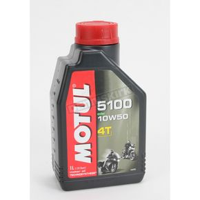 Motul Lubricants 10W50 Synthetic Blend 5100 Motor Oil - 1-liter - 836815