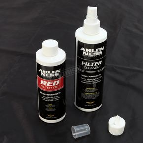 Arlen Ness Red Air Filter Cleaner/Oil - 18-076