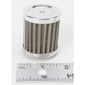 DT 1 Racing Stainless Steel Oil Filter - DT1-DT-09-80S