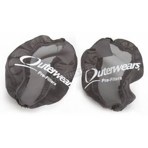 Outerwears Black Side Intake Vents - 20-2712-01
