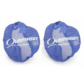 Outerwears Blue Side Intake Vents - 20-2712-02