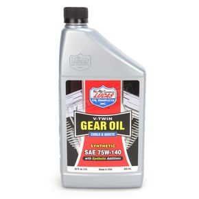 Lucas Oil V-Twin Synthetic Gear Oil SAE75W-140 - 10791