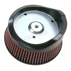 Arlen Ness Replacement Big Sucker Air Filter for Ness Big Sucker Stage I Performance Air Filter Kits w/OEM Cover - 18-082