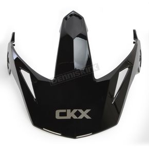 CKX Black Peak/Visor for Quest Helmets - 503883
