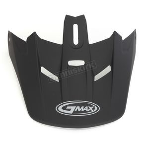 GMax Matte Black Visor for Youth GM46.2 Helmet - 72-1200