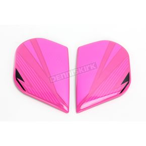 Icon Pink Primary Alliance GT Sideplates - 0133-0916