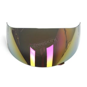 GMax Red Iridium Single Lens Shield for GM54/S Helmets - G078013