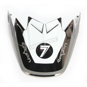 Bell Helmets Black/Chrome/White Visor for Moto-9 Flex Seven Rogue Helmets - 7081529