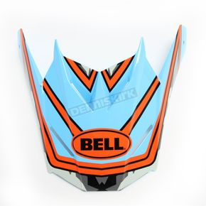 Bell Helmets Blue/Red Visor for SX-1 Whip Helmets - 7081613