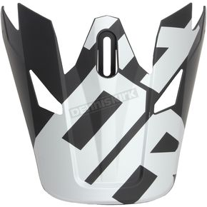 Thor Visor for Black/White Sector Level Helmet  - 0132-1128