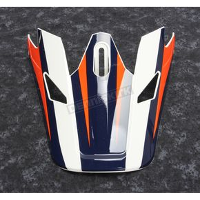 Thor Visor for Navy/Orange Sector Ricochet Helmet - 0132-1133