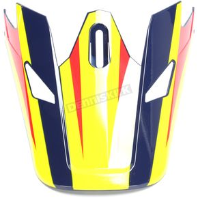 Thor Visor for Navy/Yellow Sector Ricochet Helmet - 0132-1134