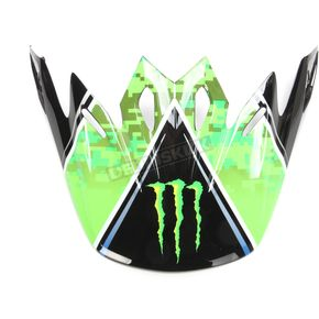 Bell Helmets Green/Black Visor for Moto-9 Eli Tomac ET3 Replica Helmet - 7086422