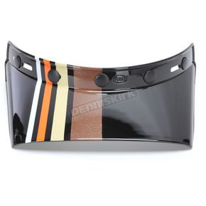 Bell Helmets Black Visor for Moto-3 Stripes Helmet - 7086423