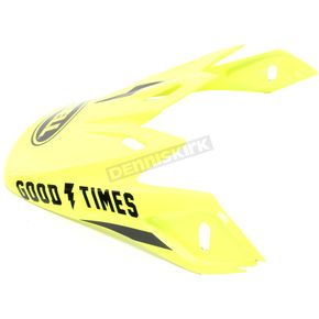 a0b32a94 Overview of Bell Helmets Fluorescent Yellow/Black Visor for Moto-9  Fasthouse Helmet - 7086424. Replacement ...