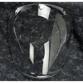 Bell Helmets Clear Retro 3 Snap Fixed Shield - 7084711
