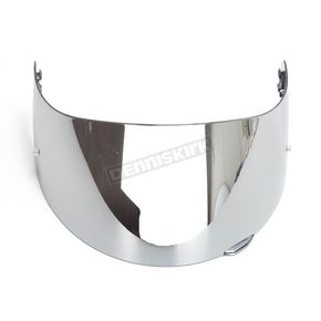 AGV Iridium Silver GT2 Anti-Scratch Shield w/Pin Lock Pins - KV12B2N8002