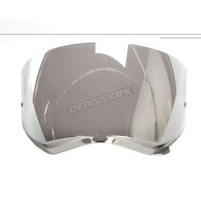 HJC Silver RST Mirrored HJ-27 Shield w/Insert Pins for DS-X1 Helmets - 510-224