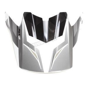 Black/White/Gray Visor for CS-MX 2 Dakota MC-10 Helmet - 328-709