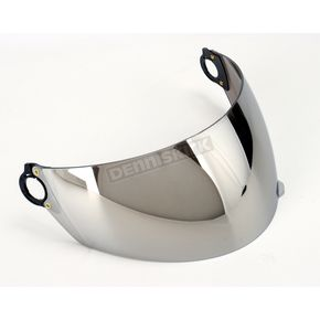 AFX Anti-Scratch Silver Mirror Shield for AFX Youth Helmets - 0130-0120