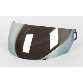 AFX Anti-Scratch Gold Mirror Shield for AFX Youth Helmets - 0130-0122