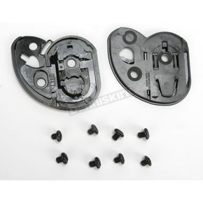 Black Base Plate Kit for HJC Helmets - 152-100
