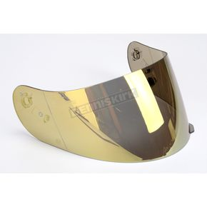 HJC HJ-09 RST Gold Mirrored Shield for HJC and Joe Rocket Helmets - 19-006