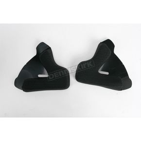 Z1R 30mm Gray Cheek Pads for Z1R Helmets - 0134-0284