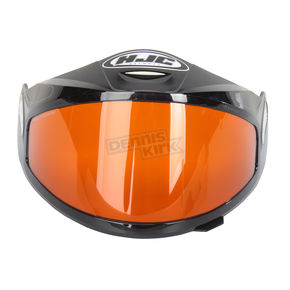 HJC HJ-09 Anti-Fog Double Lens Amber Framed Shield for HJC and Joe Rocket Helmets - 152-365