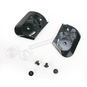 Black Pivot Kit for Z1R Youth Helmets - 0133-0242