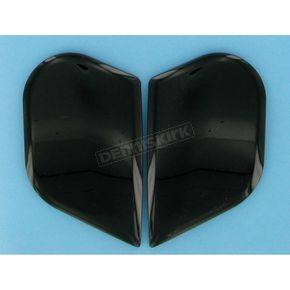 Icon Black Side Plates for Airframe Helmet - 0133-0340
