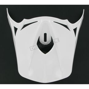 Thor White Force Visor - 0132-0417
