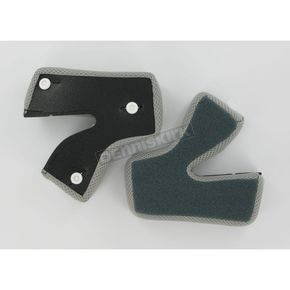 AFX Black Cheek Pads for AFX Helmets - 0134-0808