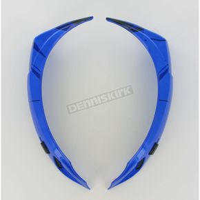 Icon Blue Super Vent Kit for Icon Alliance SSR Speedfreak Helmets - 01330407