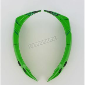 Icon Green Super Vent Kit for Icon Alliance SSR Speedfreak Helmets - 0133-0410