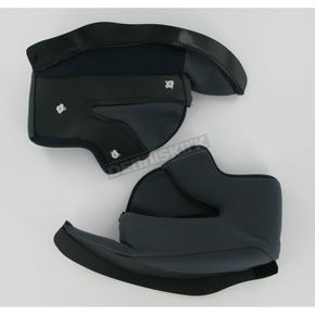 HJC Black Cheek Pad Set for HJC Helmets - 542-024