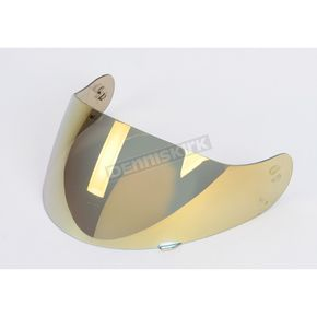 HJC RST Mirrored Gold Shield for HJC Helmets - 576-226