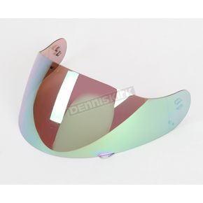 HJC RST Mirrored Green Shield for HJC Helmets - 06-912