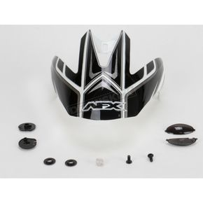 AFX Pearl White Multi Visor with Screws - 0132-0484