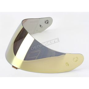 HJC HJ-17 Gold Mirrored Shield for HJC Helmets - 956-226
