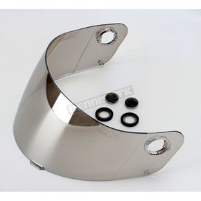 HJC HJ-06 Silver Mirrored Shield for HJC Helmets - 856-570