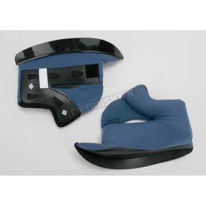 HJC Dark Blue Cheek Pad Set for CL-16 Helmets - 60-2001F
