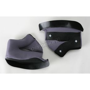 Joe Rocket Gray/Black Cheek Pad Set - 106-024