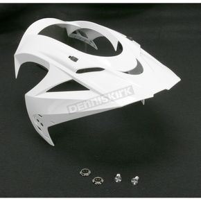 White Visor for Icon Variant Helmets - 0132-0527