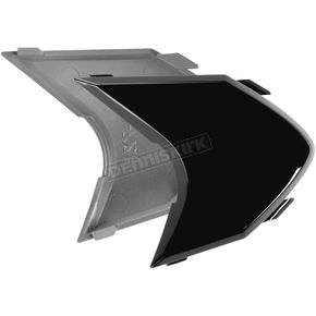Icon Black Sideplates for Variant Helmets - 0133-0542