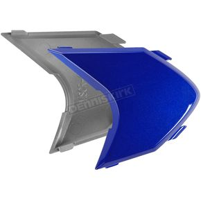Icon Blue Sideplates for Variant Etched Helmets - 0133-0549